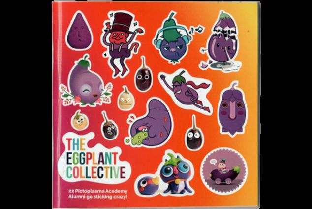5x The Eggplant Collective Stickermag